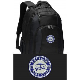 Port Authority® Commuter Backpack. BG205. - Black