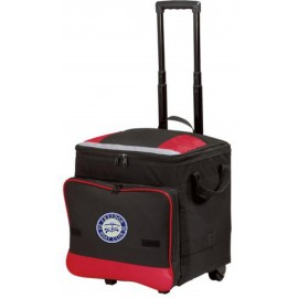 Port Authority® Rolling Cooler. BG119. - Red