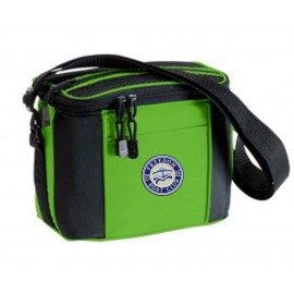 Port & Company® - 6-Pack Cooler. BG87. - Bright Lime