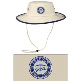 Port Authority® Outback Hat. HCF. - Navy/Canvas
