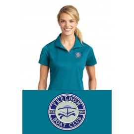 Sport-Tek® Ladies Micropique Sport-Wick® Polo. LST650. - Tropic Blue