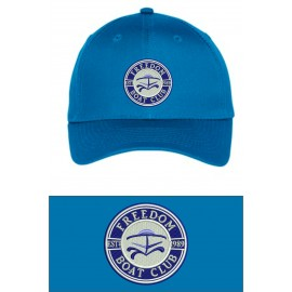Port Authority® Uniforming Twill Cap. C913. - Brilliant Blue