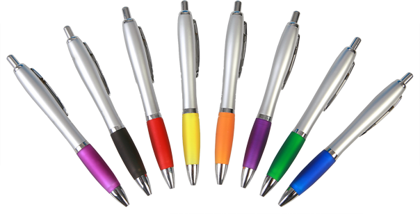 Custom printed pens for promotional use